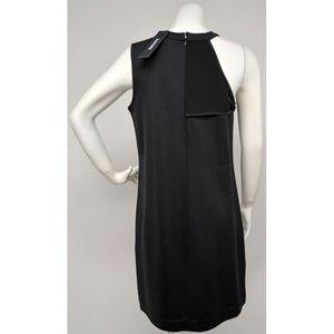 DKNY Dresses - NWT DKNY Black  Textured Panel Knit Dress S